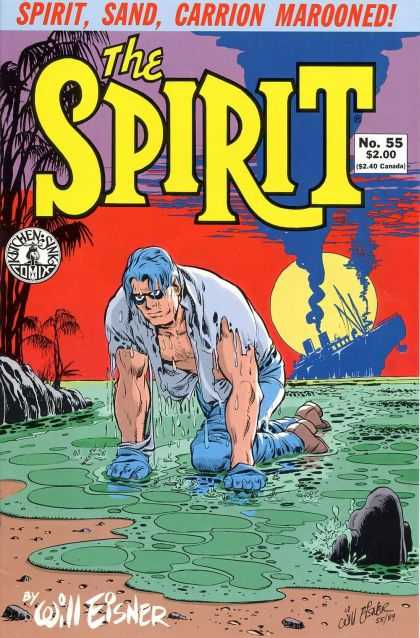 Spirit 55 - Sand - Carrion - Kitchen Sink - Will Eisner - Ship - Will Eisner
