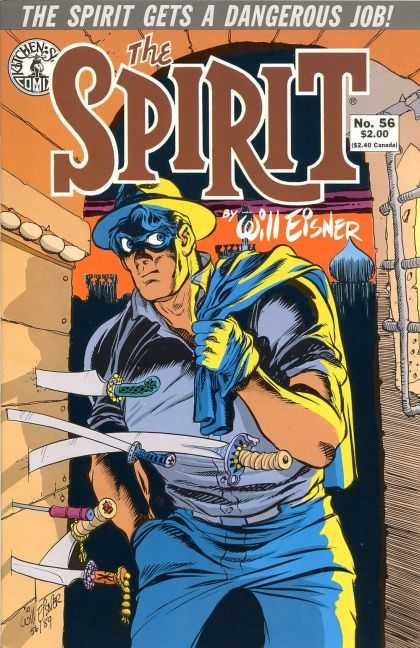 Spirit 56 - Dangerous Job - Will Eisner - Daggar - Sword - Theif - Will Eisner