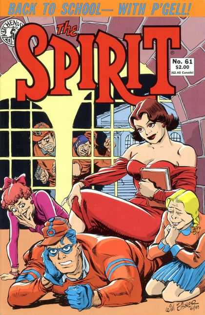 Spirit 61 - Pgell - Back To School - Woman - Book - Window - Will Eisner