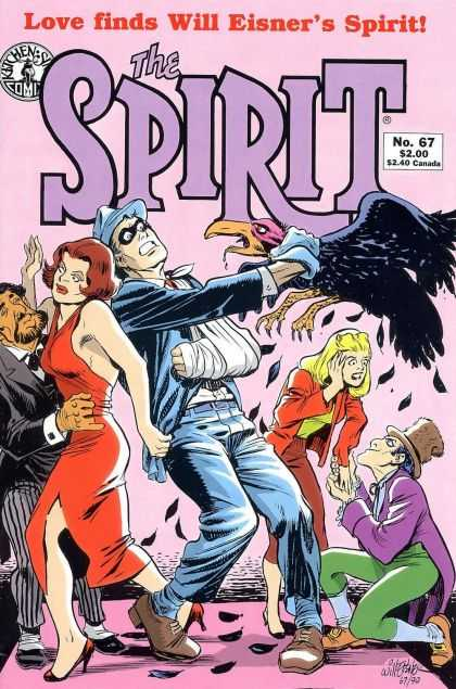 Spirit 67 - Will Eisner - No 67 - Crow - Sling - Proposal - Will Eisner