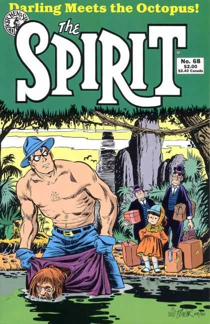 Spirit 68 - Darling Meets The Octopus - Luggage - Trees - Water - Little Girl - Will Eisner