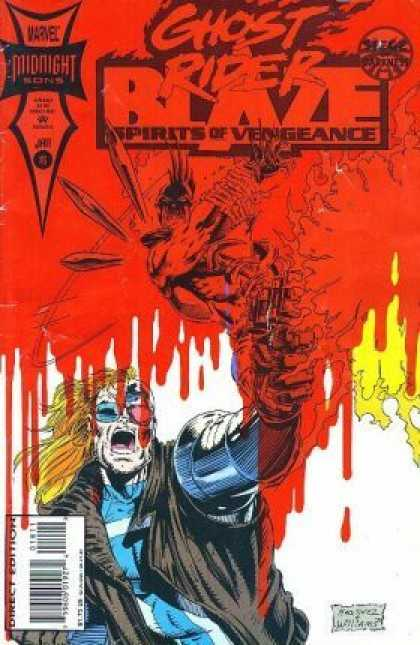 Spirits of Vengeance 18 - Vengeance - Fire - Blood - Angry Spirit - Howling In Rage