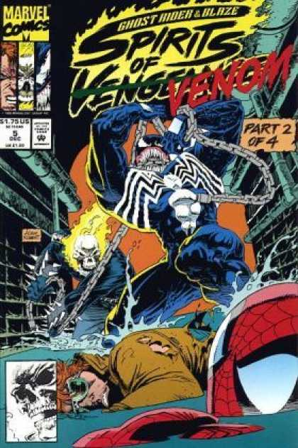 Spirits of Vengeance 5 - Marvel - Part 2 Of 4 - Venom - Ghost Rider - Blaze