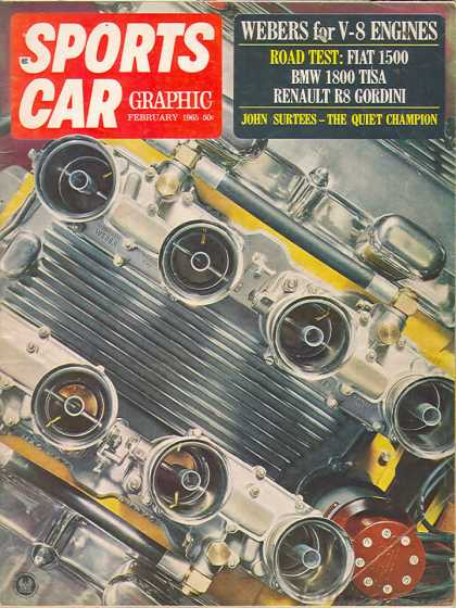 Sports Car Graphic - February 1965