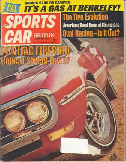 Sports Car Graphic - February 1968