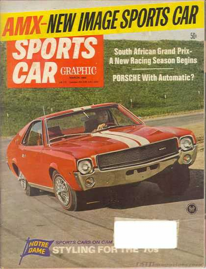 Sports Car Graphic - March 1968