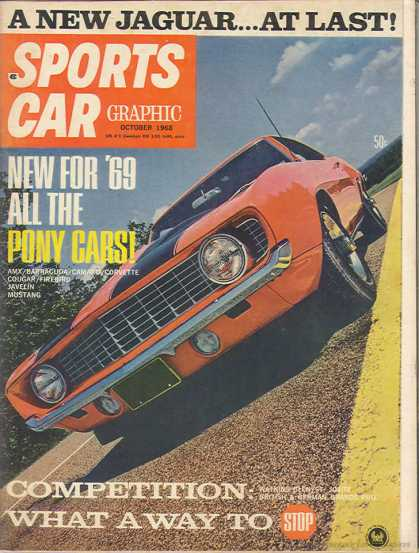 Sports Car Graphic - October 1968