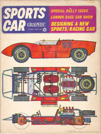 Sports Car Graphic - April 1965
