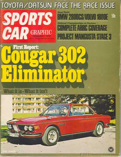 Sports Car Graphic - February 1970