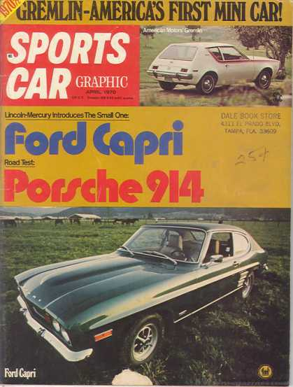 Sports Car Graphic - April 1970