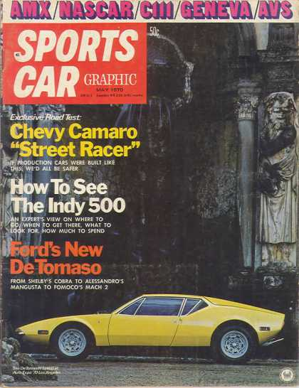 Sports Car Graphic - May 1970