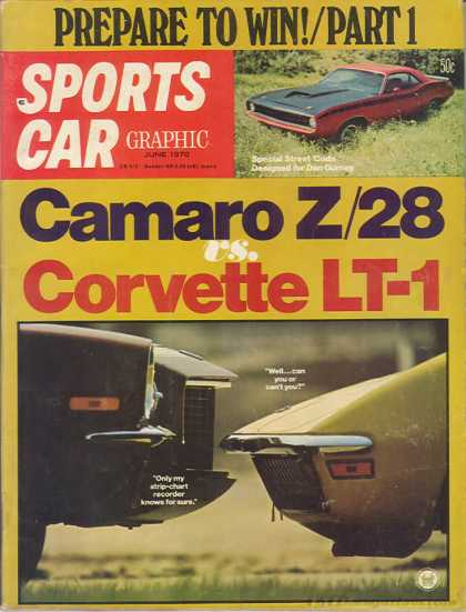 Sports Car Graphic - June 1970