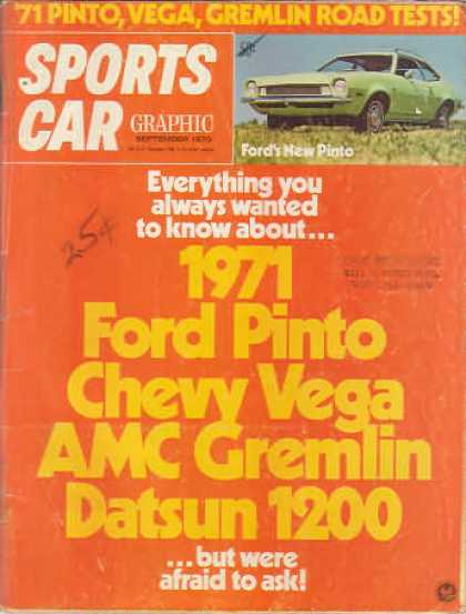 Sports Car Graphic - September 1970