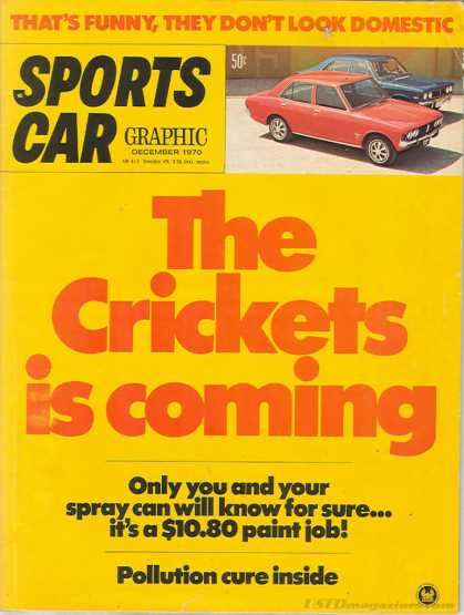 Sports Car Graphic - December 1970