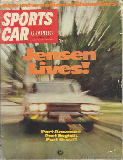 Sports Car Graphic - January 1971