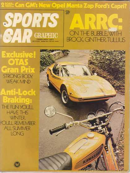 Sports Car Graphic - February 1971