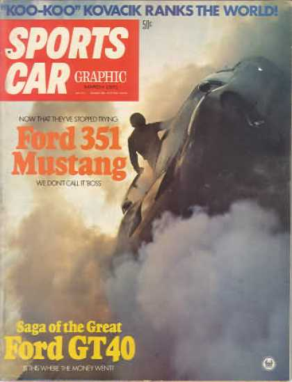 Sports Car Graphic - March 1971