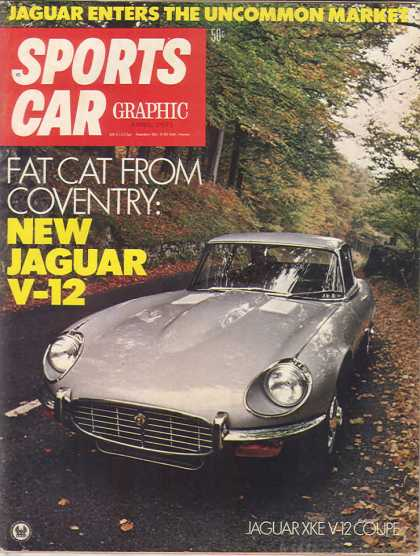 Sports Car Graphic - April 1971