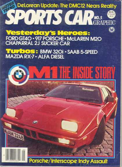 Sports Car Graphic - April 1980