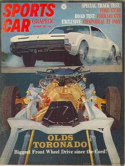 Sports Car Graphic - October 1965