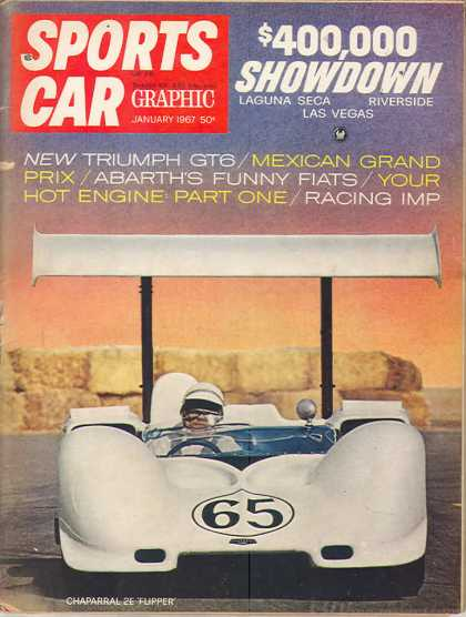 Sports Car Graphic - January 1967