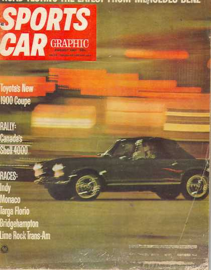 Sports Car Graphic - August 1967