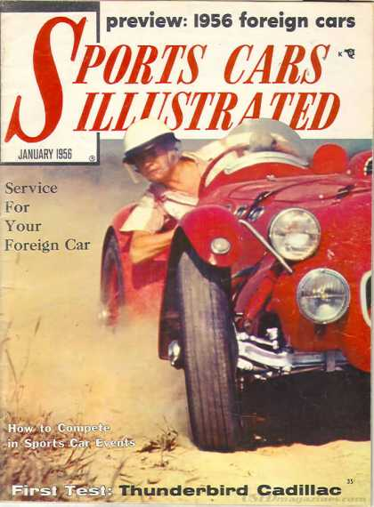 Sports Car Illustrated - January 1956