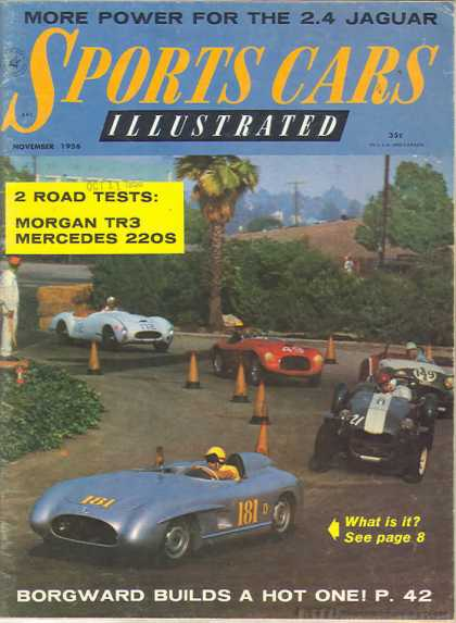 Sports Car Illustrated - November 1956