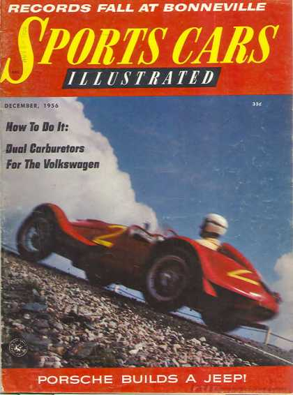 Sports Car Illustrated - December 1956