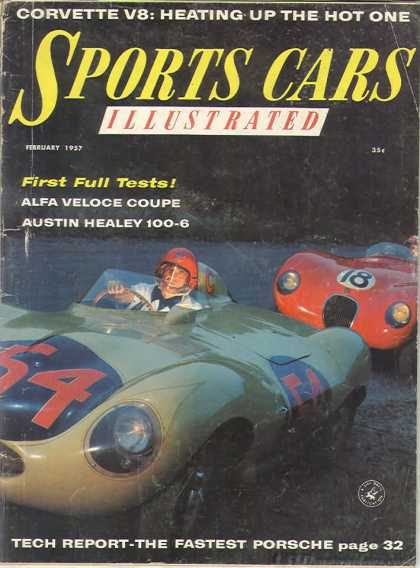 Sports Car Illustrated - February 1957