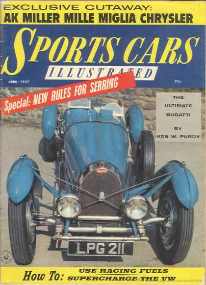 Sports Car Illustrated - April 1957