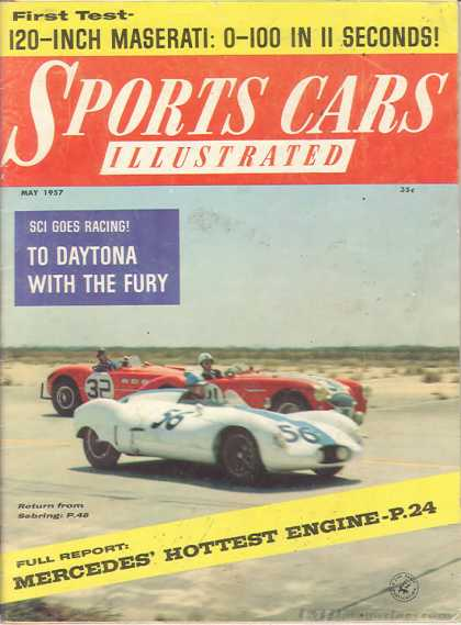 Sports Car Illustrated - May 1957