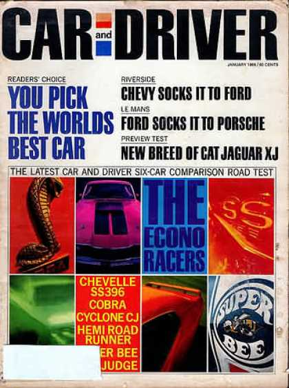 Sports Car Illustrated - January 1969