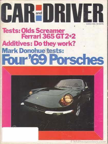 Sports Car Illustrated - March 1969