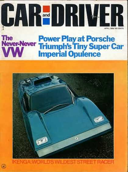 Sports Car Illustrated - April 1969