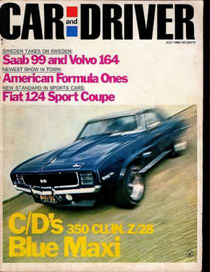 Sports Car Illustrated - July 1969