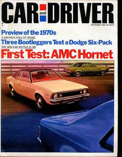 Sports Car Illustrated - September 1969