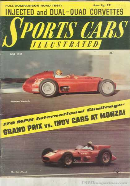 Sports Car Illustrated - June 1957