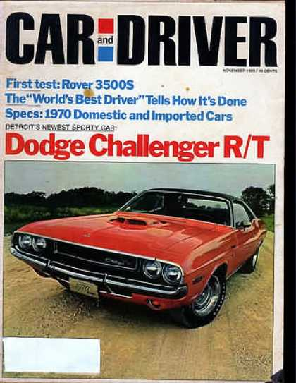 Sports Car Illustrated - November 1969