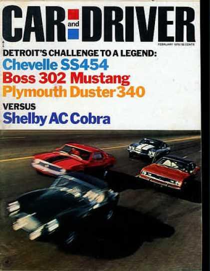 Sports Car Illustrated - February 1970