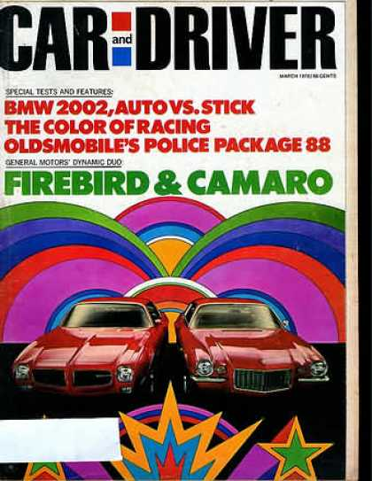 Sports Car Illustrated - March 1970