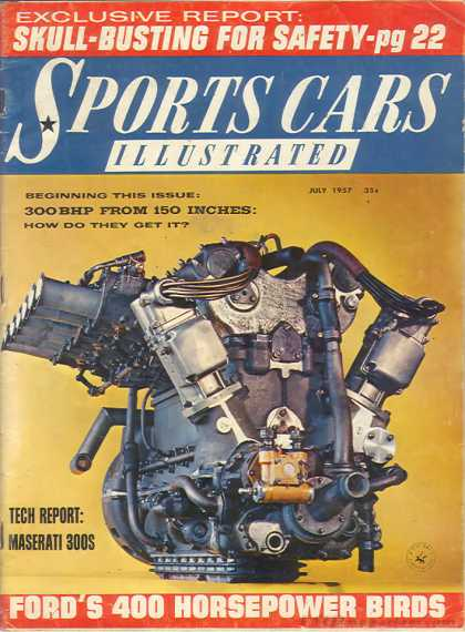 Sports Car Illustrated - July 1957