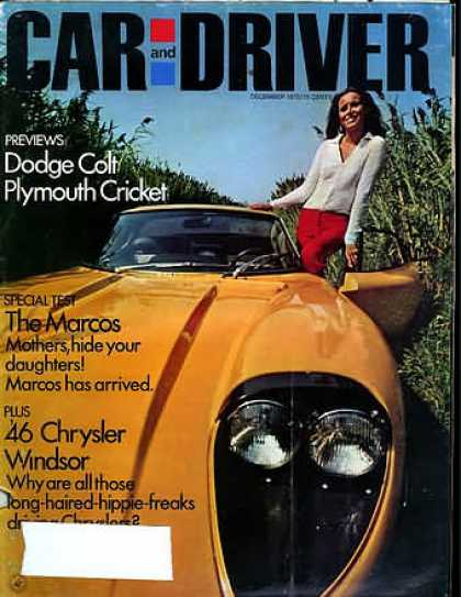 Sports Car Illustrated - December 1970