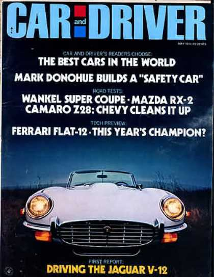 Sports Car Illustrated - May 1971