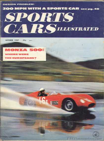 Sports Car Illustrated - October 1957
