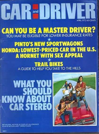 Sports Car Illustrated - April 1972