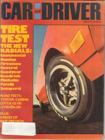 Sports Car Illustrated - June 1972
