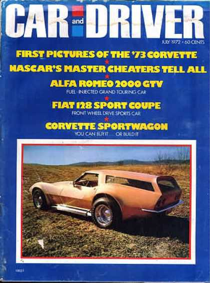 Sports Car Illustrated - July 1972