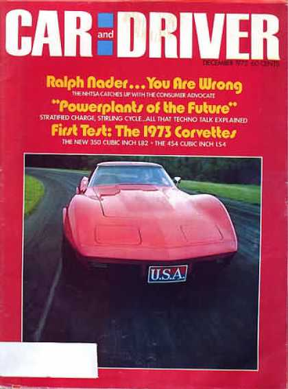 Sports Car Illustrated - December 1972