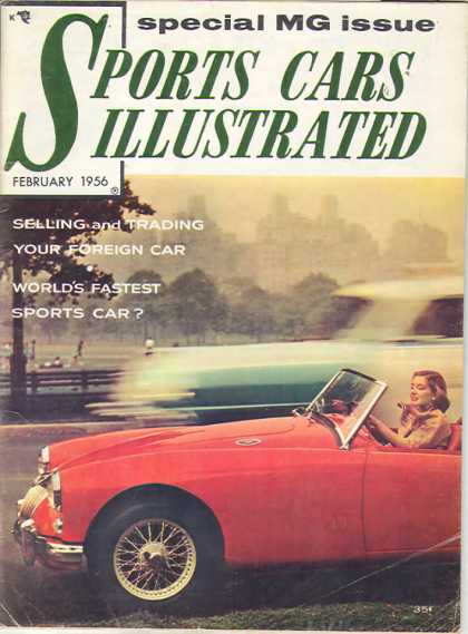 Sports Car Illustrated - February 1956